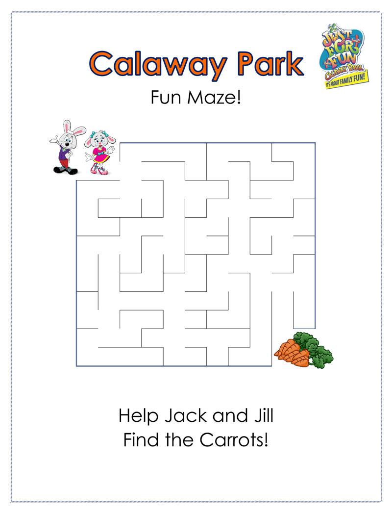 Calaway Park Fun Maze